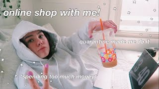 online shop with me! (online shopping spree in quarantine)