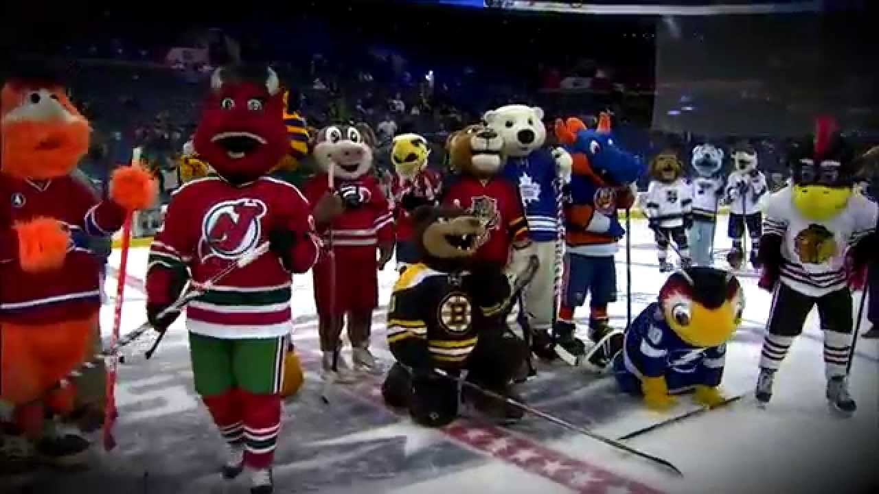 2015 NHL Mascot Showdown Recap - YouTube