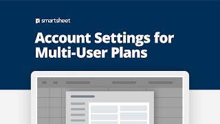 Smartsheet system administrators can set up, customize, and manage multi-user business enterprise accounts. as a administrator, you can...