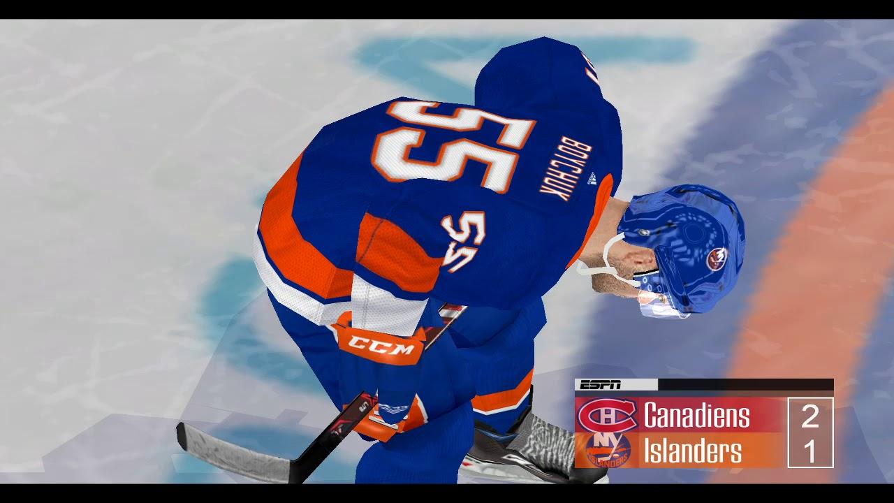 NHL2004 Rebuilt Dynasty - Montreal CPU vs CPU New York Islanders - Game 7