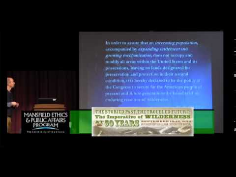 The Next Chapter Wilderness Designation, Politics, and Management