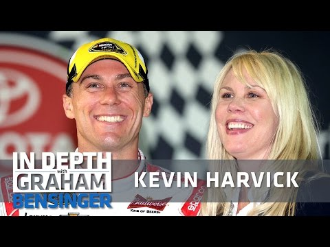 "Kevin Harvick on wife: ""She's definitely a critic"""