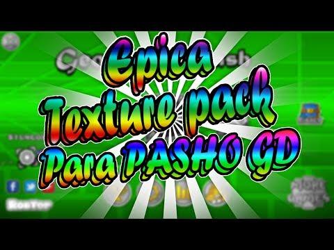 Epica texture pack de geometry dash 2.1-para pasho GD
