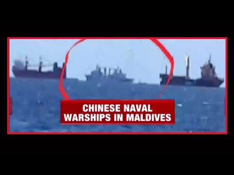 After Doklam stand-off, Chinese naval ships spotted in Maldives