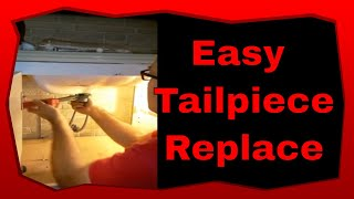 Diy Plumbing Video How To Remove And Install A Bathroom Sink Tailpiece