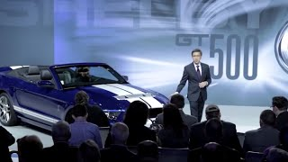 Ford Shelby Mustang GT500 Convertible 2013 Videos