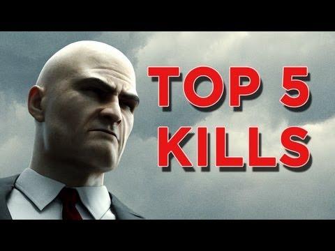 Hitman Absolution's Top 5 Kills!
