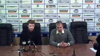 Олег Кононов після гри Ворскла-Карпати