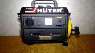 Генератор видає чистою синусоїду Huter HT 950A