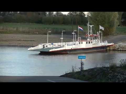 Laag water in Rijn en Waal