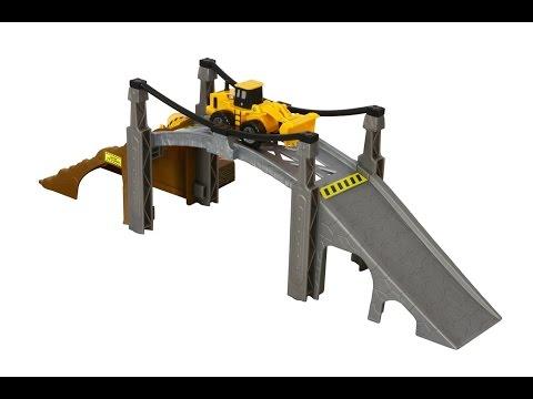 Toy State Caterpillar Construction Playset: Bridge Builder For Kids