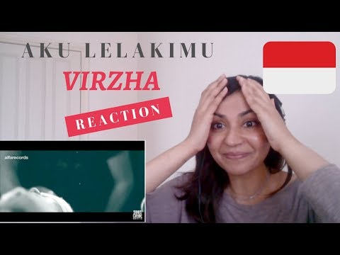 VIRZHA – Aku Lelakimu -- Reaction Video! / Indonesian Music Reaction
