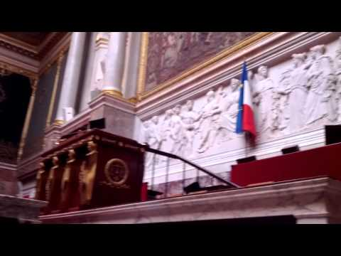 Interieur Assemblee Nationale, Paris