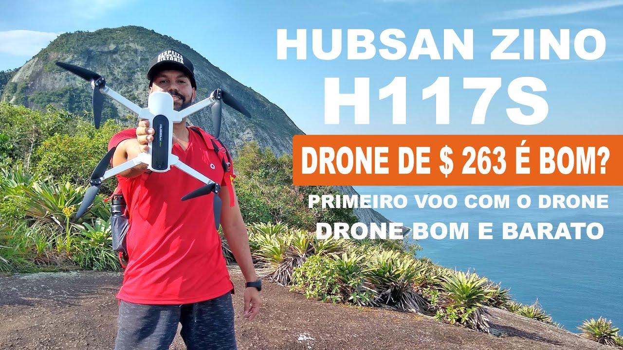 Download Drone Hubsan Zino H117s 4k  | Teste e Primeiras Impressões | Drone Bom e Barato.