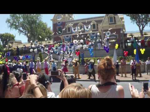 Full Disneyland 61st Anniversary Celebration