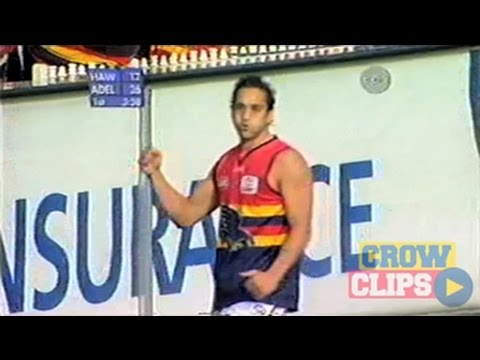 Andrew McLeod tears up the MCG