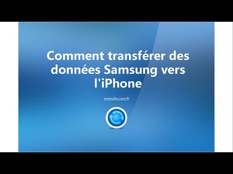 Comment Transférer des Données Samsung vers iPhone