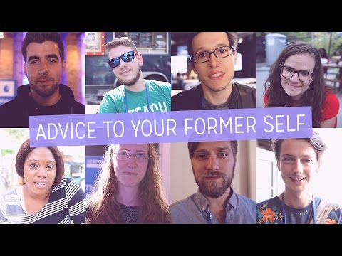 """What I wish I knew"" - Motivated creatives give advice to their former self"