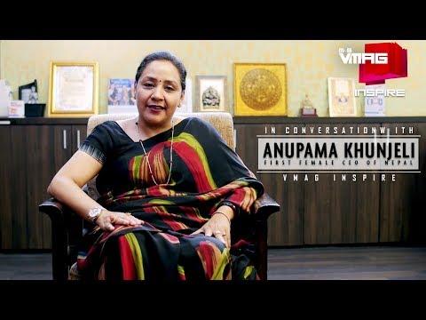 First Female CEO of Nepal Anupama Khunjeli