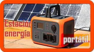 Bluetti poweroak AC50S 500WH / 300W   Panel solar Poweroak  SP120 120W   Análisis en profundidad