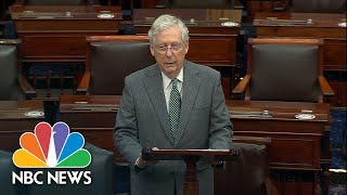 McConnell Assures 'Compromise Is Within Reach' For Covid Relief | NBC News NOW