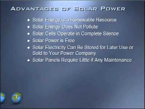 Advantages And Disadvantages Of Solar Energy Youtube