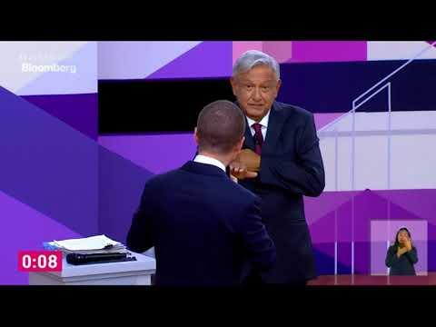 AMLO cuida su cartera con Anaya durante el segundo debate