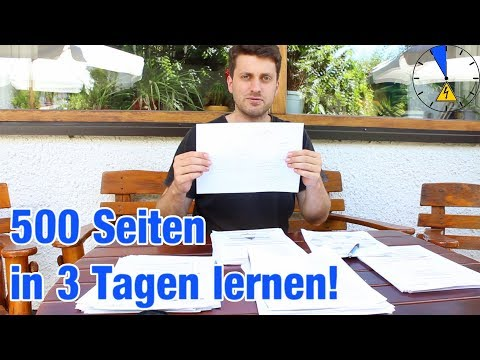 In 3 Tage