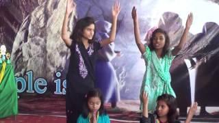 Calvin's academy Children Easter Program |  tera raj avay |  Easter Event program.