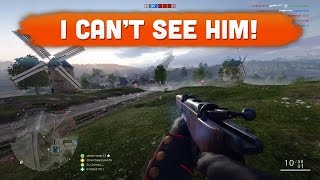 i can t see him battlefield 1   road to max rank 69 multiplayer gameplay