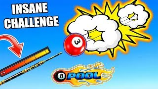 Trying To Hit EVERY Shot With MAXIMUM FORCE In 8 Ball Pool *crazy idea*