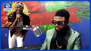 Abiodun Koya Wole Oni Entertain Guests With Christmas Songs