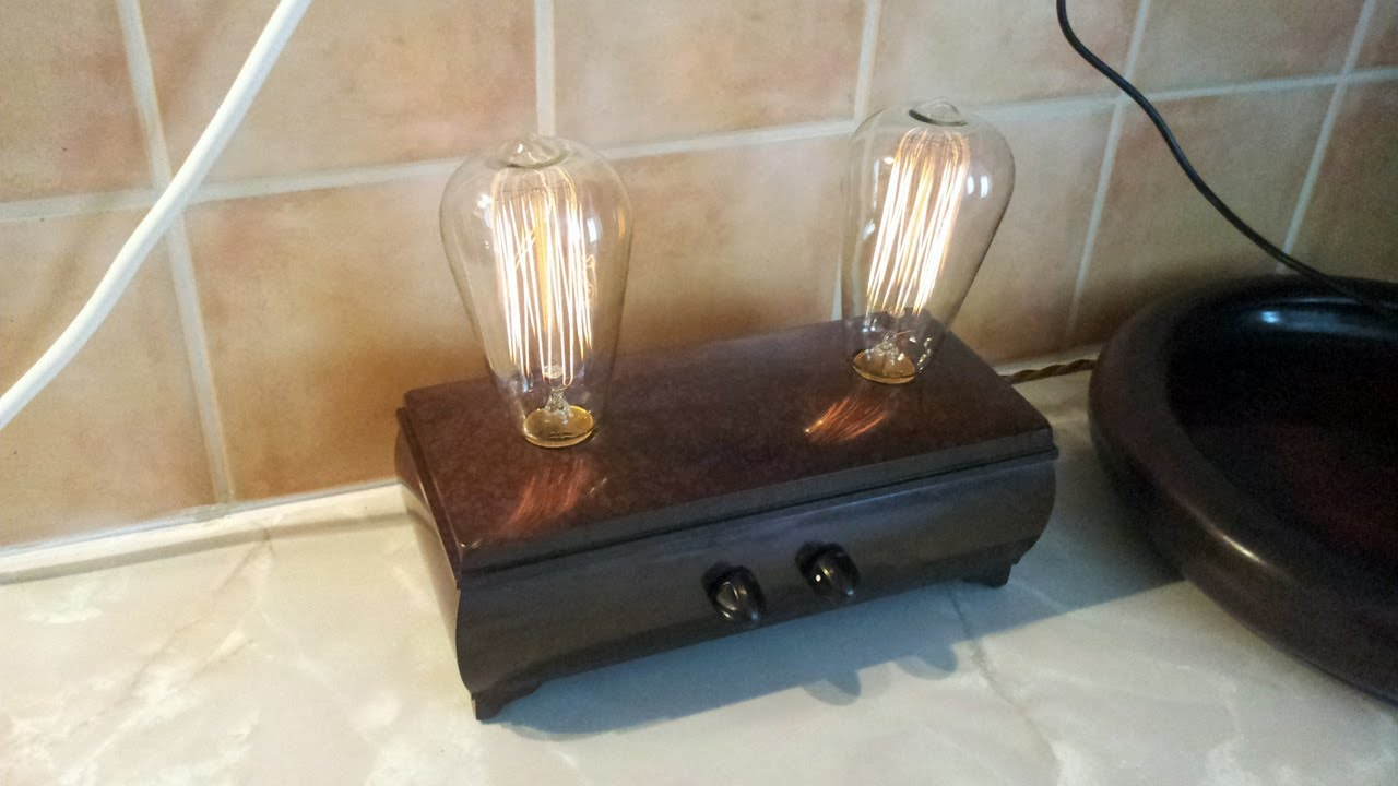 Cigar Box Lamp Pictures