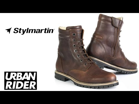 Stylmartin Ace Leather Motorcycle Boots Review by URBAN RIDER