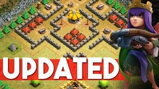 Clash of Clans   NEW SINGLE PLAYER MAPS DESTROYED    My heroes have fun with this one