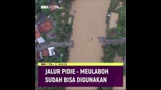 JALUR PIDIE - MEULABOH SUDAH BISA DIGUNAKAN