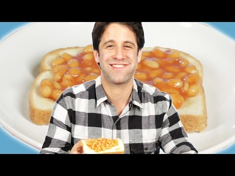 Americans Try Beans On Toast