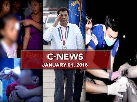 UNTV: C-News (January 1, 2018)