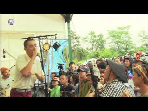 100%ユザーン in りんご音楽祭 - KAKATO(環ROY×鎮座DOPENESS)×U-zhaan×mabanua