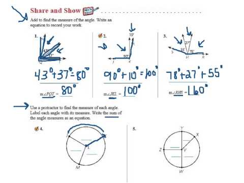 Go Math 11.4 Join and Separate Angles - YouTube