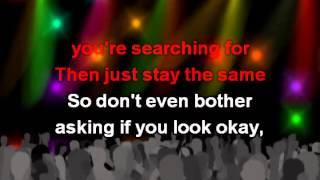Just the Way You Are, lyrics - Bruno Mars karaoke