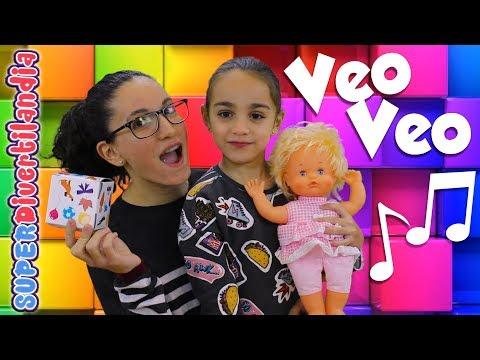 🎶Cantamos y Jugamos con Nenuco Veo Veo! 🎶 Andrea y Raquel en SUPERDivertilandia!