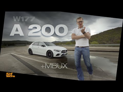 The All-New 2019 Mercedes A 200 / Test Drive & Review (German)