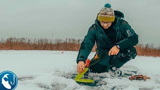 Первый лед, рыбалка на жерлицы. Открытие сезона зимней рыбалки