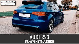 AUDI RS3 KLAPPENSTEUERUNG (Klappenauspuff) |Start Up/Revs/Acceleration|Active Valve|Cete Automotive