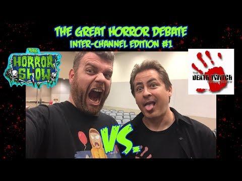 The Great Horror Debate: The Horror Show Vs. The Death Twitch - Phoenix Comic Fest 2018