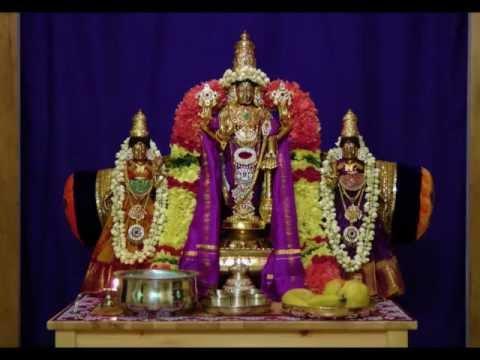 Rendition of Tamil Hymn Glorifying Sri Maha Vishnu -