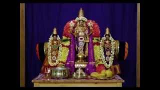 """Rendition of Tamil Hymn Glorifying Sri Maha Vishnu - """"Sri Adi Narayana Kavacham"""" (Armor of Vishnu)"""