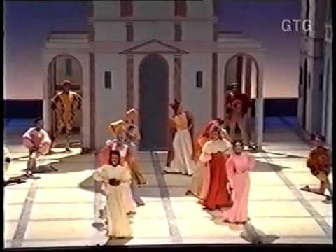 kiss me kate au Grand Théâtre de Genève 1992