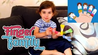 Finger Family ნინა მღერის სიმღერას თითების ოჯახზე, Nina mgeris simgeras titebis ojaxze